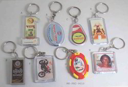 Multicolor Many Available Acrylic Key Rings, Size: 4-5