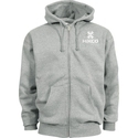 Grey Winter Man Hoodies