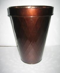 Round Copper Planters