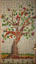 Fused Glass Tree Of Life