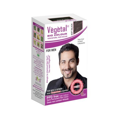 Vegetal Black And Brown Ammonia Free Hair Dyes For Men Pack Size