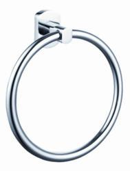 Silver Color Stainless Steel Elite Towel Ring