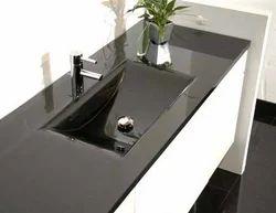 Black Granite Bathroom Sink Stone, Granite Sink Bathroom