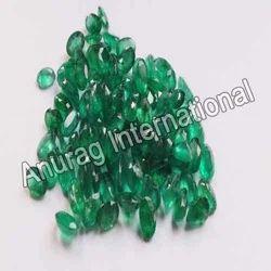 Oval Emerald Gemstones