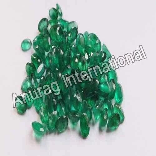 Oval Emerald Gemstone