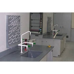 Sink Unit with Peg Board