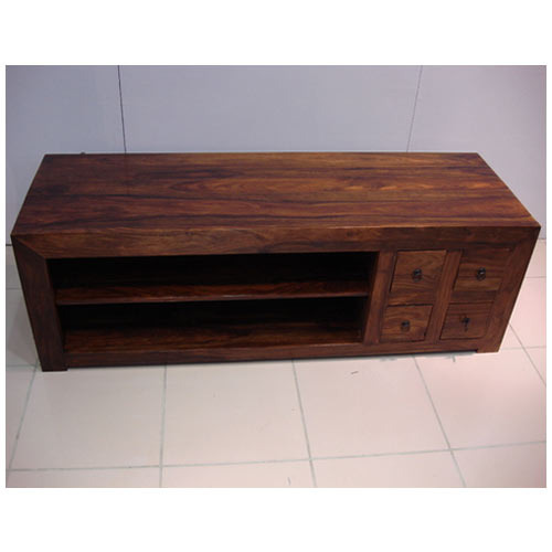 Mango Wood Furniture - Mango Wood TV Table Exporter from Jaipur