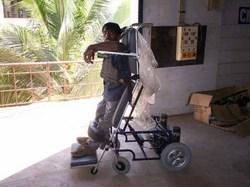 Powered Joystick Operated Wheelchair