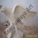 Marble Bird Statue