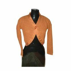 Ladies Short Blouse Sweater