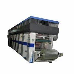 High End Rotogravure Printing Machines (Multi color)200 MPM