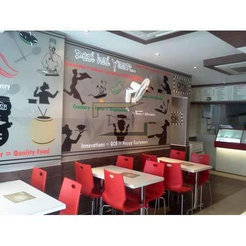 Modern Cafe Interiors in Delhi, Kirti Nagar by Design Hut, Delhi ...