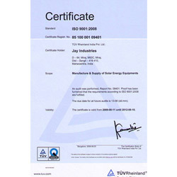 ISO 9001:2008 Certificte