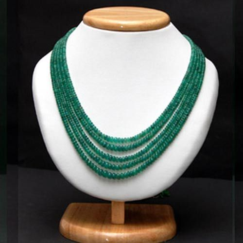 Green Colour Beads Necklace