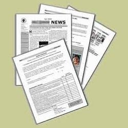 Newsletters Printing Services