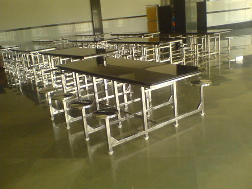 STAINLESS STEEL Industrial Dining Table With Granite Top Shape - Stainless steel dining table base suppliers