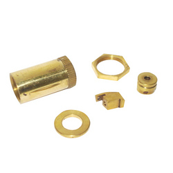 Brass Lock Nuts, Washers &  Switch Parts