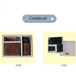 Leather Wallets Combo Set