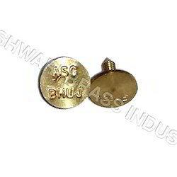 Brass Ear Tags, Packaging Type: 1000 Pcs, Size: 15mm