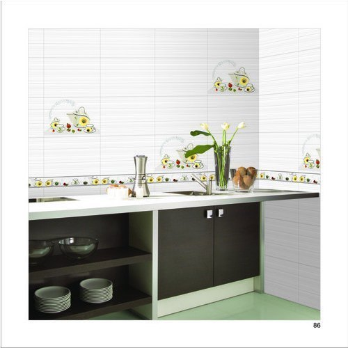 Kitchen Tiles India Designs designer wall tiles - glossy light dark tiles manufacturer from morvi
