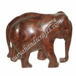 Wooden Rose Wood Elephant