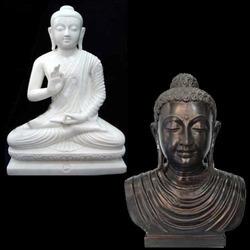Buddha Marble Bust