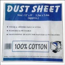 Plain Cotton Dust Sheets