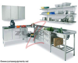Commercial Kitchen Equipments   Work Stations Manufacturer From Greater  Noida