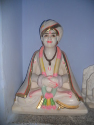 Saint Gyaneshwar Marble Statue