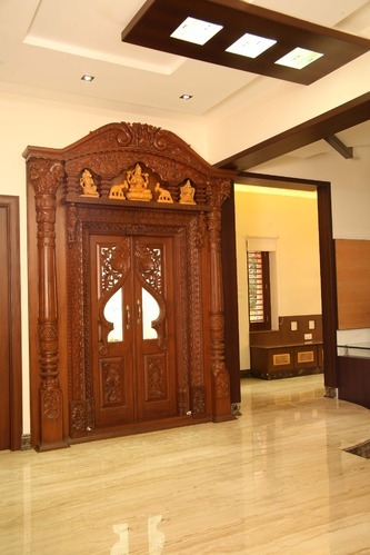 Pooja door at rs 100000 piece s magadi road bengaluru id 3975565030 - Pooja room door designs in kerala ...