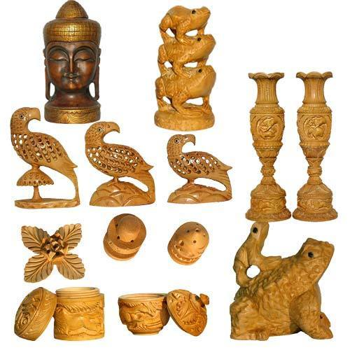 Wooden Handicrafts Samples View Specifications Details Of