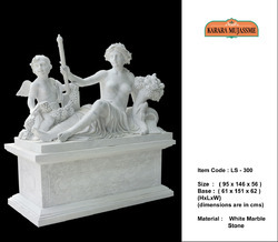 White Marble Stone Large Statues