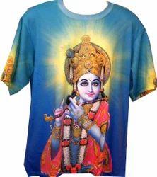 47379836 Printed T-Shirts - T-Shirt Manufacturer from Vrindavan