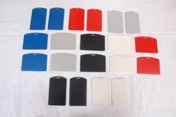 Card Holder-Sticker Type White
