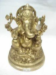 Ganesh Garh Ji Brass