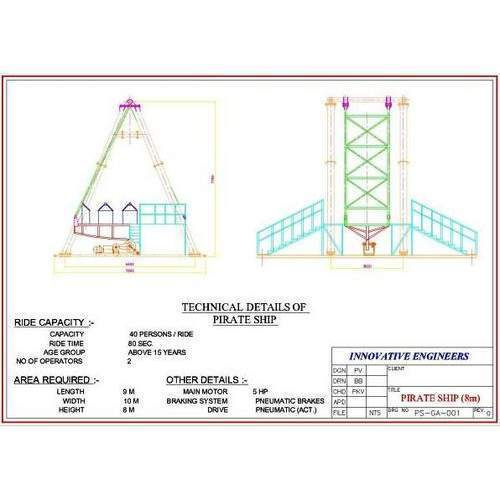 Pirate Ship Ride Diagram - Electrical Work Wiring Diagram •