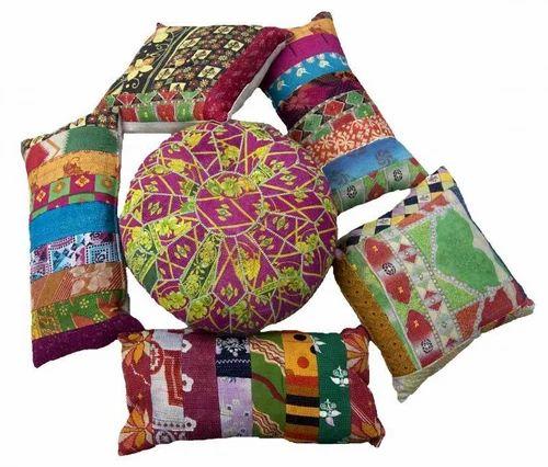 Kantha Pillows