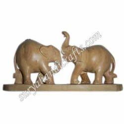 Wooden Plane Elephant