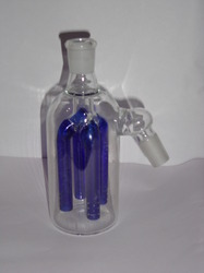 Blue Colored Glass Ash Catcher