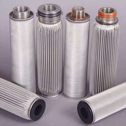 SS MESH Steel S.S. Filter Element, For Industrial
