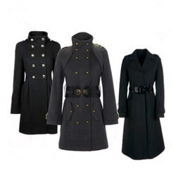 Ladies Long Coat in Ludhiana Punjab | Women Long Coat Suppliers