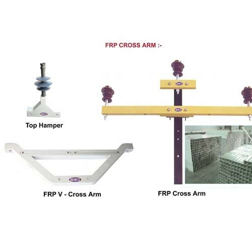 Frp Pultruded Cross Arm Straight Amp V Shape Cross Arm