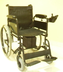 Dual Drive Wheelchair Powered