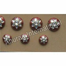 Kundan Studded Sherwani Buttons