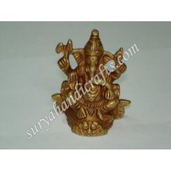Brass Ganesha Ji With Sitting