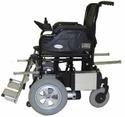 Manual Lifting Option Wheelchair Powered