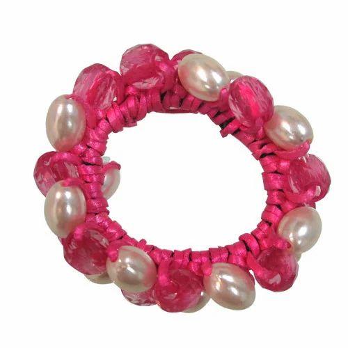 Pearl Hair Rubber Bands bce43d6d2d8
