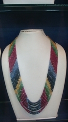 Multi Colour Precious Stones Beads