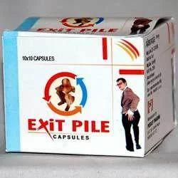 PEEKAY PHARMA Exit Pile Capsule For Piles, Grade Standard: Medicine Grade, Packaging Size: 30 Capsule 10x10 Blister Pack