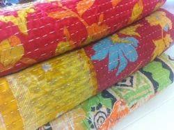 New Handmade Kantha Quilt